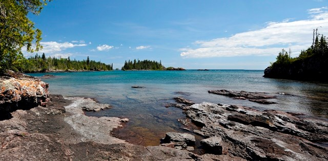 Isle Royale National Park in Michigan's Lake Superior
