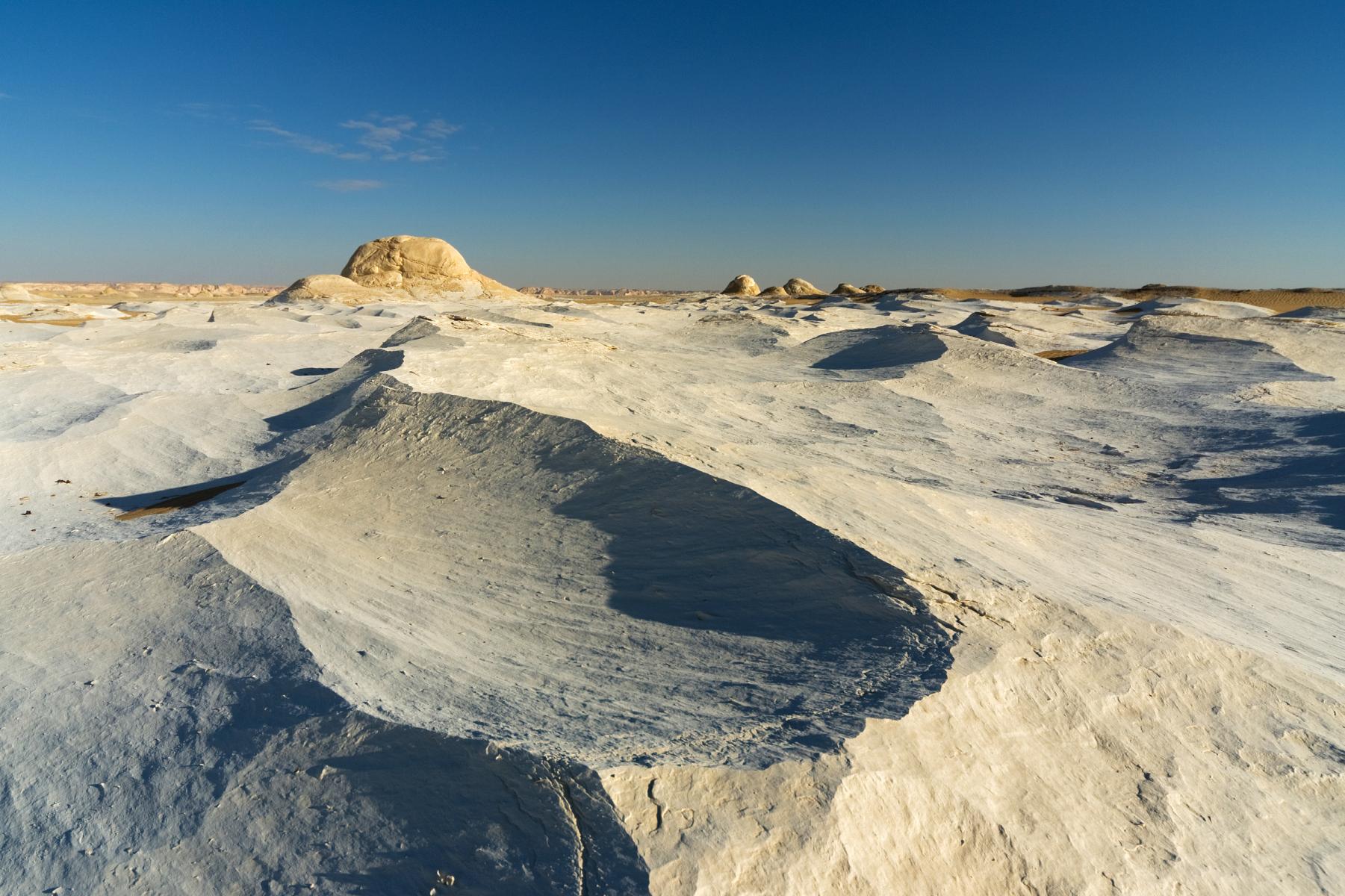 White sand in Egypt's White Desert